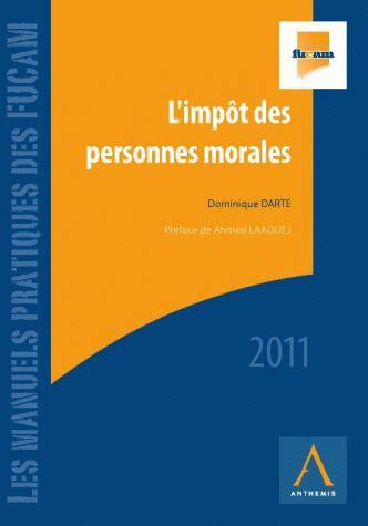 Dissertation sur la personne morale
